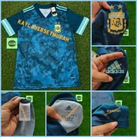 JERSEY BOLA ARGENTINA AWAY OFFICIAL 2019/2020 GRADE ORI TOP QUALITY