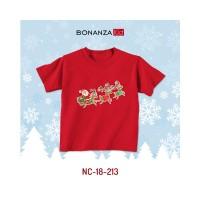 Kaos Natal Anak Rusa Sinterklas Bahan Super Lembut - BonanzaKid