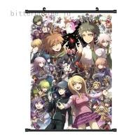 Poster Dinding Gambar Anime Super Danganronpa V3 untuk Dekorasi
