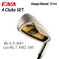 stick For senior 2019 ena golf japan magicwand Gold Iron Game # 8,9,