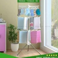 Harga Hemat Jemuran Lipat Rak Baju Peralatan Rumah Tangga Berkualitas