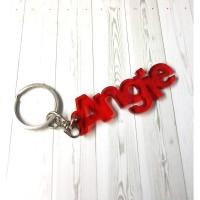 Gantungan Kunci Nama Custom