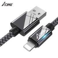 Kabel data Apple Lighting Cable Iphone 2A AAMIR 100 CM Black - AMKB01