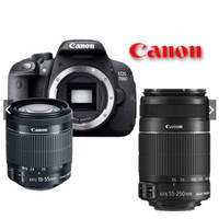 Diskon Canon Eos 700D Doble Lens ( 18-55Mm Is Ii + 55-250Mm Is Ii )Kam