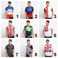 KAYSER Kaos Jersey Brompton Bersepeda Olahraga Dri Fit Sepeda Lipat