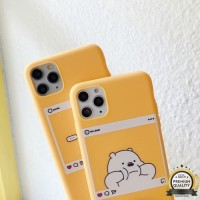 Case iPhone 6 7 8 X XR XS 11 MAX 11 PRO 11 PROMAX | We Bare Bears