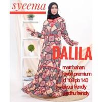 maxi dress arab/india/dubai/turki syeema dalila daster busui panjang