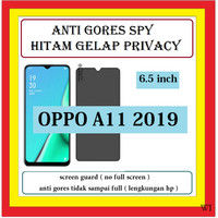 OPPO A11 2019 6.5 INCH ANTI GORES SPY HITAM GELAP ANTI PRIVACY 402162