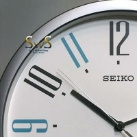 Jam Dinding SEIKO QXA729S Quiet Sweep Wall Clock 33cm Original QXA729