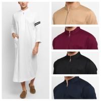 NABAWI Jubah Gamis Pakaian Gamis Pria Al Isra Busana Muslim Pria