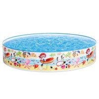 Kolam Anak Intex / Kolam Renang intex Tanpa Pompa 56451 [152cm]