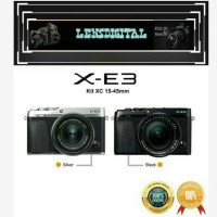 Fujifilm XE3 X-E3 Kit XC 15-45MM Original-Kamera Mirrorless Fuji Xe3