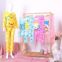 Baju Tidur / Piyama Dewasa Celanja Panjang Baju Panjang Korea