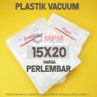 Plastik Vacuum 15x20 cm Vacuum Bag / Plastic Vakum Sealer 15x20cm