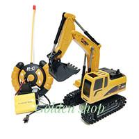 Mainan Remote Control Mini Truck Construction/Mainan anak RC Truck
