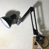 Lampu Meja Belajar Baca Arsitek Jiamei JM 800 E27 bisa LED + PENJEPIT