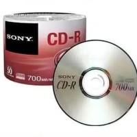 CD-R Kosong Sony / Tabung isi 50