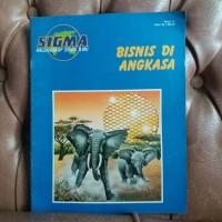 Sigma Kaleidoskop Dunia Ilmu no. 12 Bisnis di Angkasa