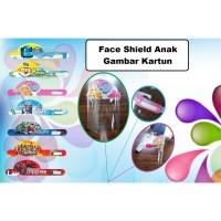 Face Shield Anak Karakter Kartun Face Protector Anak Kartun Anti Virus