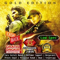 RESIDENT EVIL 5 : GOLD EDITION / RE5 / RE 5 (CD DVD GAME PC)
