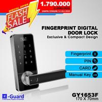 53F e-Guard Fingerprint One Touch Unlock Kunci Pintu Digital Door Lock