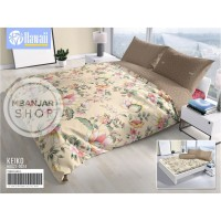 BED COVER KING SET Hawaii by California Size 180x200 KEIKO Motif