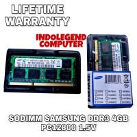 RAM SAMSUNG SODIMM DDR3 4GB PC12800 1.5VOL