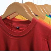 Deskripsi Kaos Polos Navy Baju Polosan 100% Cotton Combed 30s - - Putih