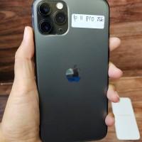 IPHONE 11 Pro 256 Grey Mulus Fullset Original Garansi Bs TT gosend jkt