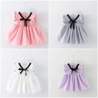 Baju Dress Gaun Pesta Anak Bayi Perempuan Import Cotton