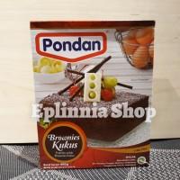 Pondan Brownies Kukus Cake Mix 400 gr - Premiks Untuk Brownies Kukus