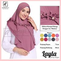 Hijab Instant Layla / Jersey Zoyya - Lavender
