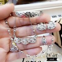 xuping set perhiasan anak lapis emas 24k 15a3