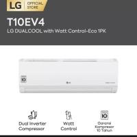 AC LG 1 PK T10EV4 Dual Cool Eco INVERTER Lowwatt Garansi resmi