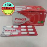 Panadol Merah - Extra Paracetamol - strip - 1 blister isi 10 tablet