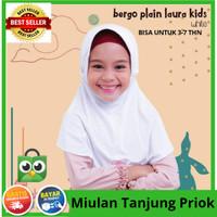jilbab anak|kerudung anak Miulan||bergo plain laura