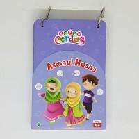 Kartu Cerdas Asmaul Husna - Flash Card - Zikrul kids