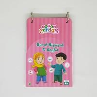 Kartu Cerdas Huruf Hijaiyah & angka - Flash Card - zikrul kids