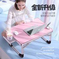 Meja Laptop Portable Aluminium Kokoh dan Multifungsi