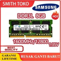 RAM MEMORY SAMSUNG NOTEBOOK LAPTOP DDR3L 8GB 12800