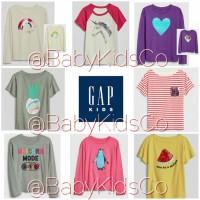 Kaos Flip Sequin Gapkids baby gap kids tee kaos anak perempuan tshirt