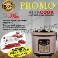 Vitacook Rice cooker vita Cook Multi guna NASI Sehat rendah KARBO