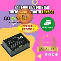 PART BATERAI ORIGINAL MINI PRINTER BLUETOOTH EPX583 - MURAH DAN BARU