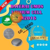 Battery Lithium CR2016 Batre Li-ion CR 2016 Baterai Jam Tangan-MURAH
