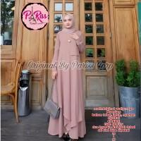 Miza Dress Salem Gamis Modern Wollycrepe Premium