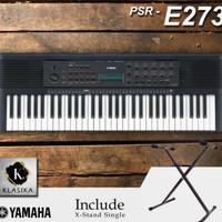 Keyboard piano YAMAHA psr e273 plus stand single