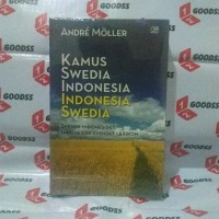Buku Kamus Swedia indonesia - Andre Moller