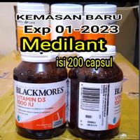 Vitamin D3 blackmores asli.. 200 tab