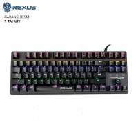Keyboard Gaming Rexus Legionare MX 5.1 Mechanical TKL - BROWN SWITCH