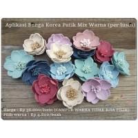 GBNG-07 : Aplikasi Bunga Korea Putik Mix Warna (per lusin)